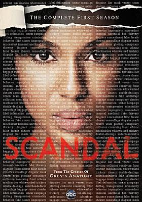 SCANDAL:COMPLETE FIRST SEASON BY WASHINGTON,KERRY (DVD)